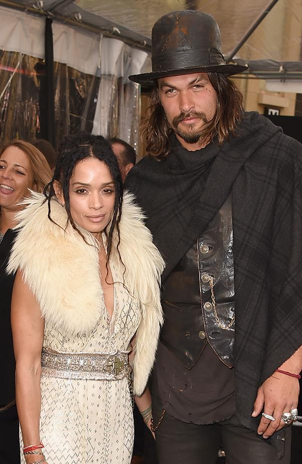 <p><strong>Lisa Bonet and Jason Momoa</strong><br><br>Momoa and Bonet are quite a private couple, however, occasionally Momoa will gush about his wife on his Instagram page. The couple met in 2005 through mutual friends, and got married in November 2007. They have a daughter and son together, and Bonet has her daughter Zoë Kravitz, from her previous relationship with Lenny Kravitz.