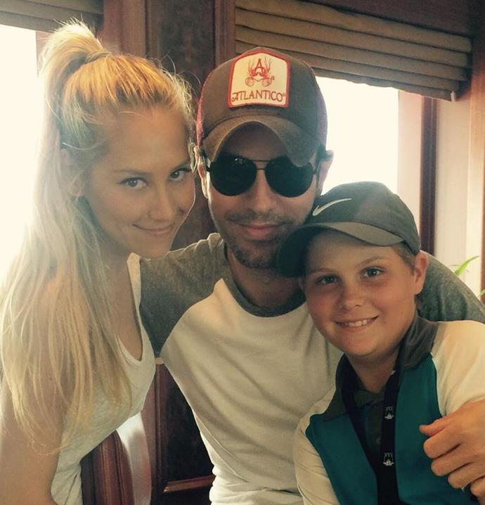 """<p>**Anna Kournikova and Enrique Iglesias**  <br><br> After linking up after Kournikova appeared in his music video for """"Escape"""", the couple are still as strong as ever since 2001. Kournikova posted a <a href=""""https://www.instagram.com/p/BGcFCD6u2-B/"""" target=""""_blank"""">rare photo</a> of the two together on her Instagram account in June 2016."""