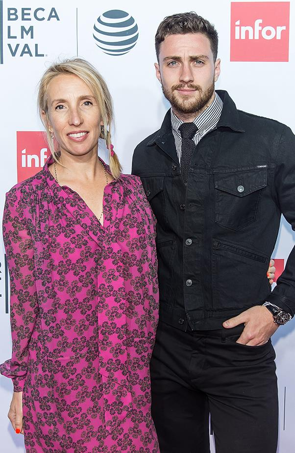 <p><strong>Sam Taylor-Wood and Aaron Taylor-Johnson</strong><br><br>Taylor-Wood and Taylor-Johnson's relationship got off to a controversial start, after it was revealed that Taylor-Johnson was only 19, while Taylor-Wood was 42. The pair met on the set of <em>Nowhere Boy</em> and hit it off immediately. Taylor-Johnson married the <em>Fifty Shades of Grey</em> director in June 2012, and they have two daughters together.