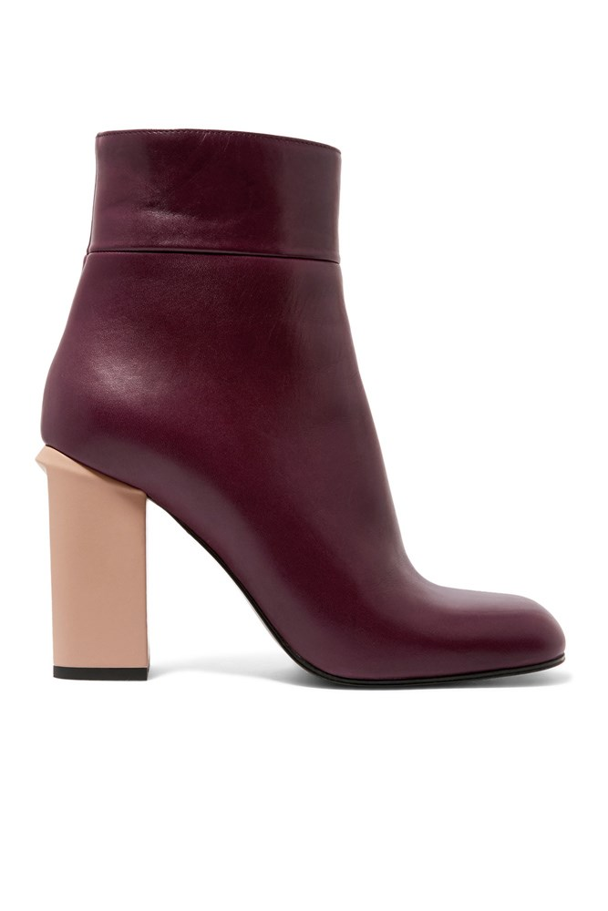 """<a href=""""https://www.theoutnet.com/en-AU/product/Marni/Leather-ankle-boots/775721"""">Boots, approx. $421, Marni at theoutnet.com</a>"""