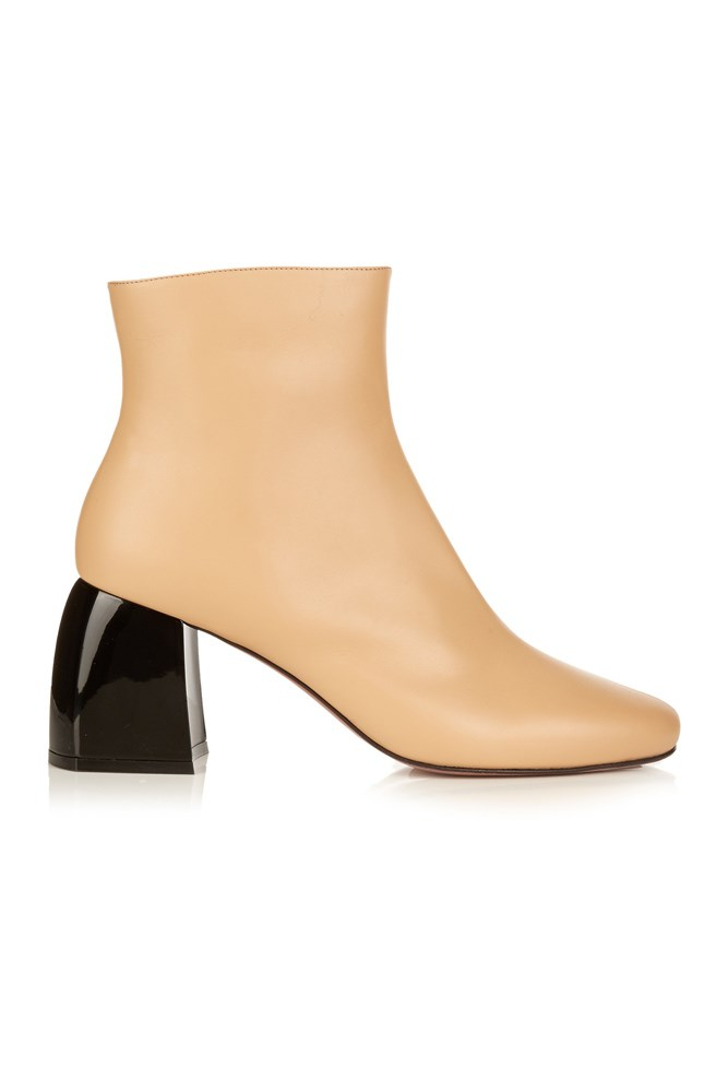"""<a href=""""http://www.matchesfashion.com/au/products/Sportmax-Ruth-ankle-boots-1068976"""">Boots, $1267, Sportmax at matchesfashion.com</a>"""