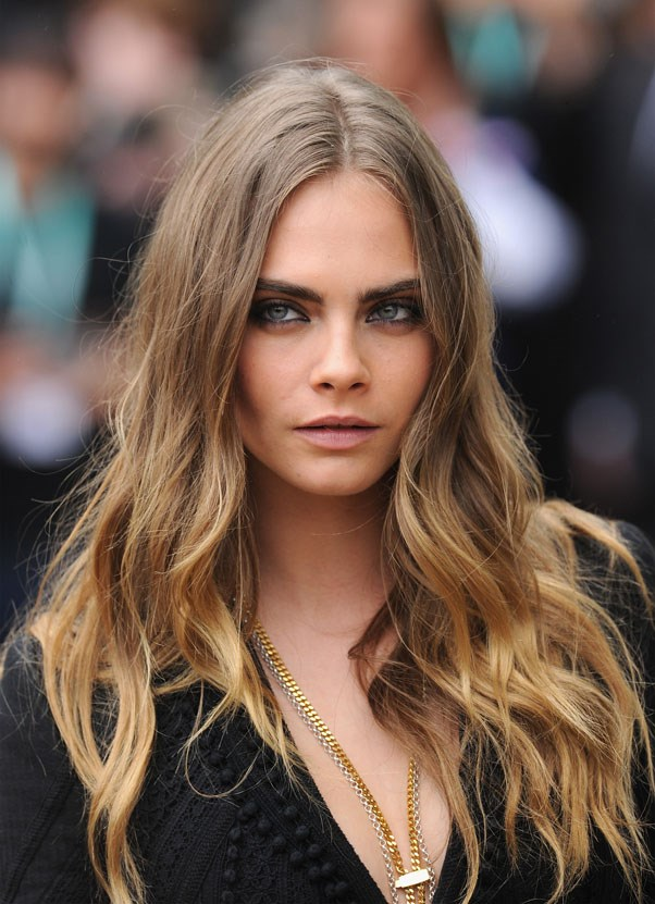 "<strong>Cara Delevingne</strong> <br><br> ""I've been best-friends with Genevieve Garner, daughter of Sarah Doukas [CEO of Storm Model Management] since I was five. Sarah saw me when she came to our school and Gen introduced us. I had never thought about modelling before, and it just happened."""