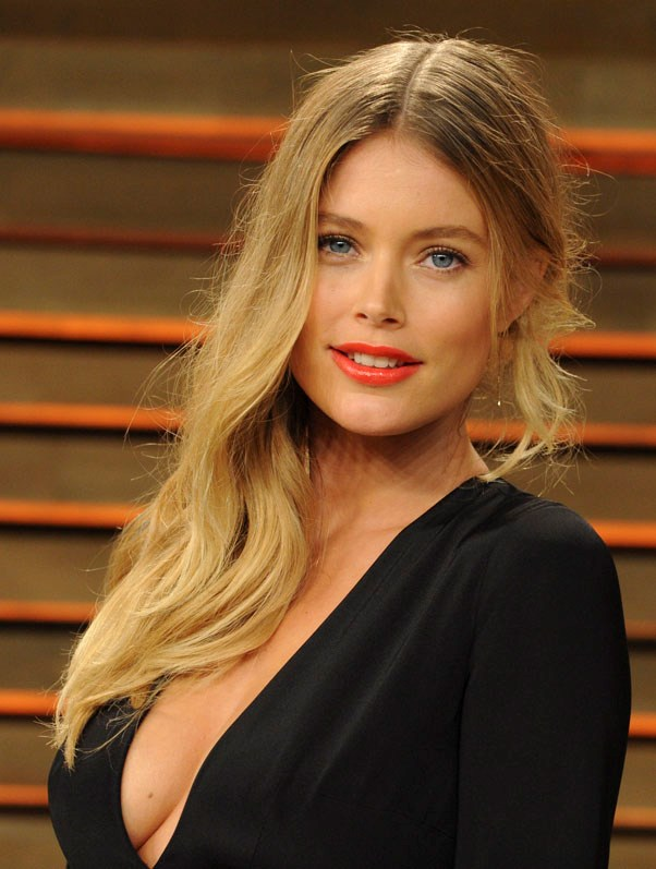 <strong>Doutzen Kroes</strong> <br><br> When she was 18, Kroes sent images of herself to a modelling agency in order to earn some extra cash. Little did she know that she would be signed immediately.