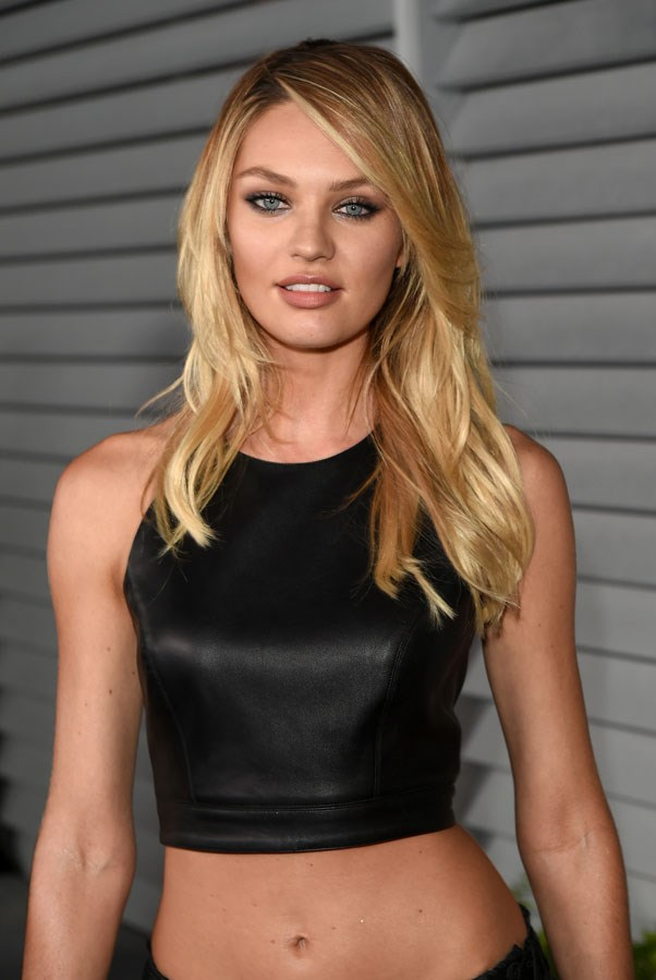<strong>Candice Swanepoel</strong> <br><br> The South African model was spotted in a local flea market, and by 16 she already modelling in Paris.