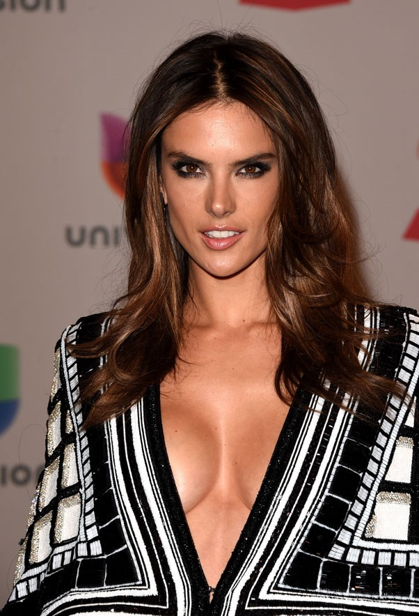 "<strong>Alessandra Ambrosio</strong> <br><br> When she was 12, Ambrosio began taking modelling classes and by the time she had turned 14, was chosen as a finalist for the country-wide ""Elite Model Look"" competition. The rest is history."