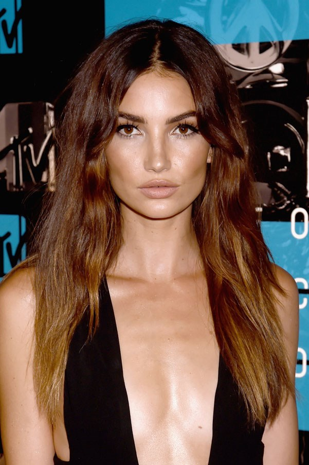 <strong>Lily Aldridge</strong> <br><br> Aldridge was at a school carnival when she was discovered at the age of 16.
