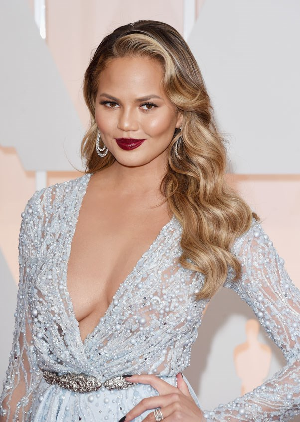 <strong>Chrissy Teigen</strong> <br><br> Teigen was first scouted at the surf shop she worked at in Huntington Beach, California.