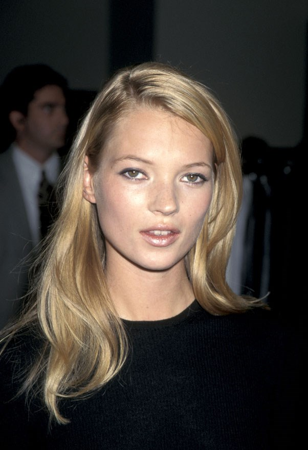 <strong>Kate Moss</strong> <br><br> Scout Sarah Doukas found a 14-year-old Kate Moss arguing with her father at JFK airport. She boarded the plane to the UK and approached them in-flight as soon as the seatbelt sign turned off.