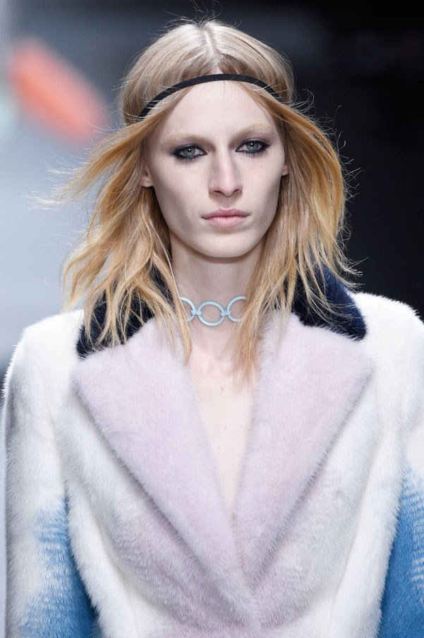 "<strong>Julia Nobis</strong> <br><br> Nobis was spotted at a Bondi Junction bus stop in her school uniform. ""It was a little bit awkward. I thought she was just going to ask me for directions but she asked me if I was I model. Who knew a bus stop could be a place of magic?"""