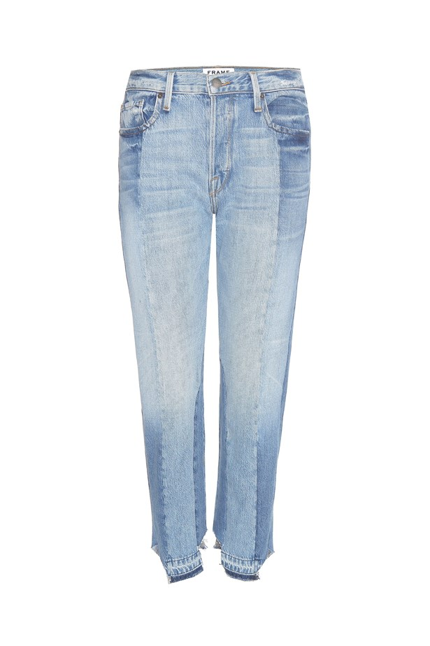 "Jeans, $845, <a href=""http://www.mytheresa.com/en-au/nouveau-le-mix-jeans-630161.html?catref=category"">Frame at mytheresa.com</a>."