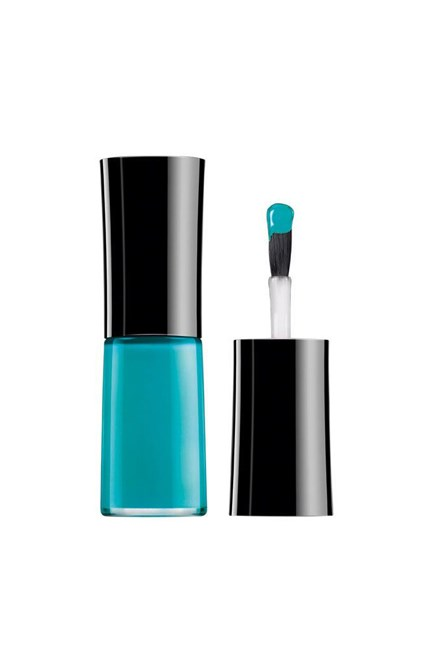 "Nail Lacquer Acqua Colors in Vert Vif, $40, <a href=""http://www.myer.com.au/shop/mystore/nails/giorgio-armani-cosmetics-189653860-231319270--1"" target=""_blank"">Giorgio Armani at myer.com.au</a>."
