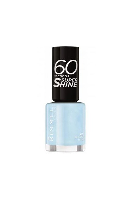 "60 Seconds Super Shine Nail Polish in Pillow Talk, $5.95, <a href=""https://www.priceline.com.au/cosmetics/nails/nail-polish/rimmel-60-seconds-super-shine-nail-polish-8-ml"" target=""_blank"">Rimmel at priceline.com.au</a>."