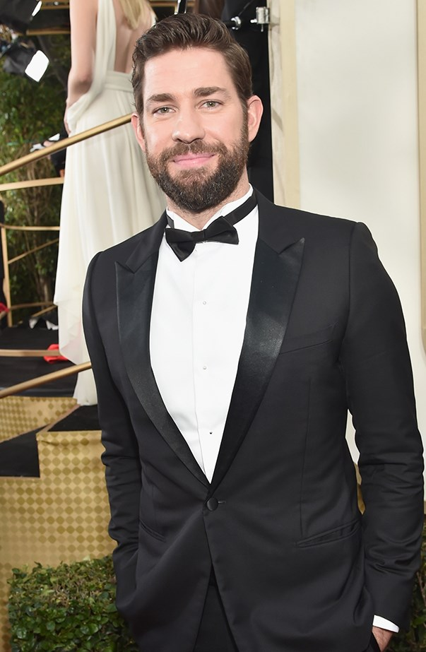 """<p><strong>John Krasinski</strong> <p>We all know John Krasinski is one of Hollywood's most romantic men in real life—you've heard how he talks about his <a href=""""http://www.elle.com.au/news/celebrity-news/2016/8/cute-emily-blunt-and-john-krasinski/"""">wife Emily Blunt</a>, right?—so it's no surprise that he's equally gushy about being a father. John says becoming a father made him focus on """"becoming a better person every single day."""" He also told <a href=""""http://celebritybabies.people.com/2016/08/24/john-krasinski-daughter-hazel-violet-sister-bond/"""" target=""""_blank""""><em>People</em></a> that their firstborn, two-and-a-half-year-old Violet, is """"an amazing big sister [to Violet]. It's a great age because she's still young enough to not feel competitive with the baby, but still old enough to recognise how adorable the baby is. I think she's in heaven."""" He continued, """"Honestly, just a hug is heartbreaking. When Hazel gives a hug to Violet, right there in that moment you can see this huge relationship that will last much longer than I'm around… it's so beautiful."""""""