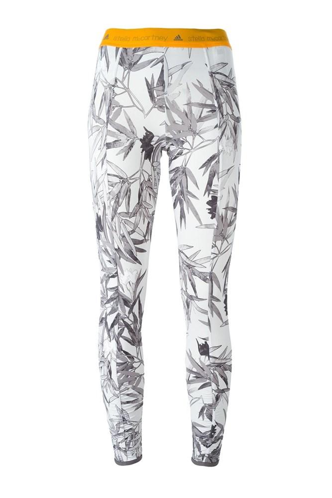 """<a href=""""http://www.farfetch.com/au/shopping/women/adidas-by-stella-mccartney-printed-fitness-leggings--item-11584871.aspx"""">Leggings, $112.25, Adidas By Stella McCartney at farfetch.com</a>"""