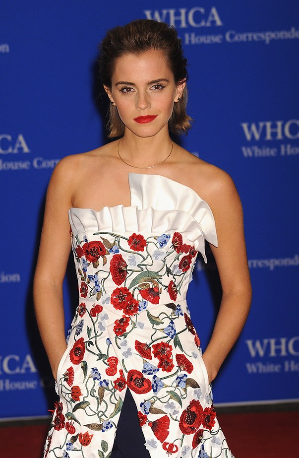 """<p><strong>Emma Watson</strong> <p>While promoting <em>The Perks of Being a Wallflower</em>, Emma Watson admitted to her <a href=""""http://www.mtv.com/news/1694058/emma-watson-kevin-costner-celebrity-crush/"""" target=""""_blank"""">first celebrity crush</a>, but also said it hasn't changed. """"The worst thing is that it's still the same. It's Kevin Costner,"""" she said. Then she added, """"I actually met him in a life, and he actually said hi to me. I was literally so embarrassed I couldn't get the words out. He was Robin Hood and the Bodyguard—come on!"""""""
