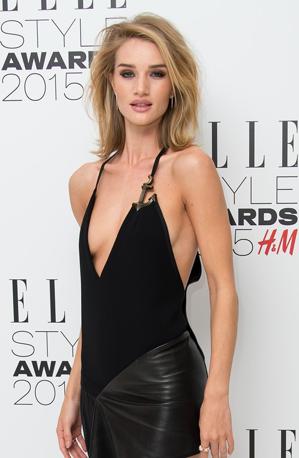"""<p><strong>Rosie Huntington-Whiteley</strong> <p>Back in mid-2011, Rosie Huntington-Whiteley admitted to having a <a href=""""http://www.huffingtonpost.com/2011/06/28/rosie-huntington-whitely-prince-harry_n_886401.html"""" target=""""_blank"""">royal crush</a> on Prince Harry. """"I think he knows how obsessed I am. Well, he does now. He's so handsome,"""" she said on <em>Live With Regis and Kelly</em>."""