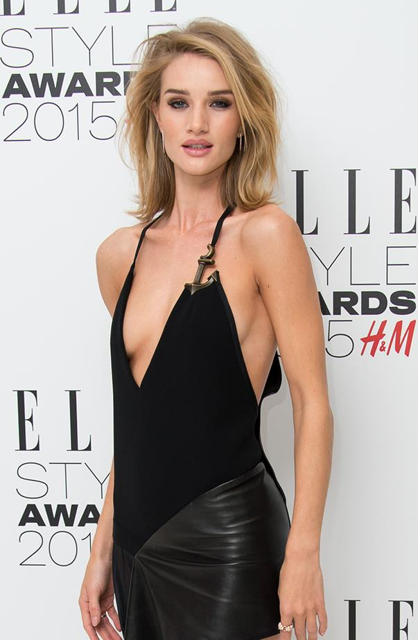 "<p><strong>Rosie Huntington-Whiteley</strong> <p>Back in mid-2011, Rosie Huntington-Whiteley admitted to having a <a href=""http://www.huffingtonpost.com/2011/06/28/rosie-huntington-whitely-prince-harry_n_886401.html"" target=""_blank"">royal crush</a> on Prince Harry. ""I think he knows how obsessed I am. Well, he does now. He's so handsome,"" she said on <em>Live With Regis and Kelly</em>."