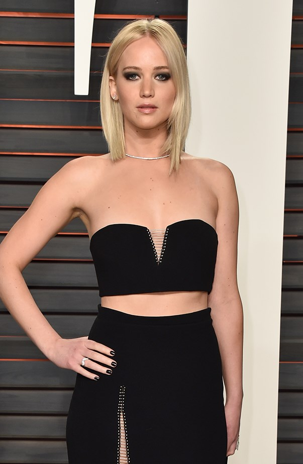 """<p><strong>Jennifer Lawrence</strong> <p>Jennifer Lawrence told Seth Meyers straight up that she had previously had a <a href=""""http://time.com/4151491/jennifer-lawrence-celebrity-crushes/"""" target=""""_blank"""">crush on him</a> when she appeared on his show in December 2015. She told him that she was even going to ask him out! As for her other crush? Jennifer admitted she had been texting Amy Schumer, """"I have so many sexual and boyfriend/marriage feelings for Larry David."""" Seems like all Jennifer wants is a smart, funny guy."""