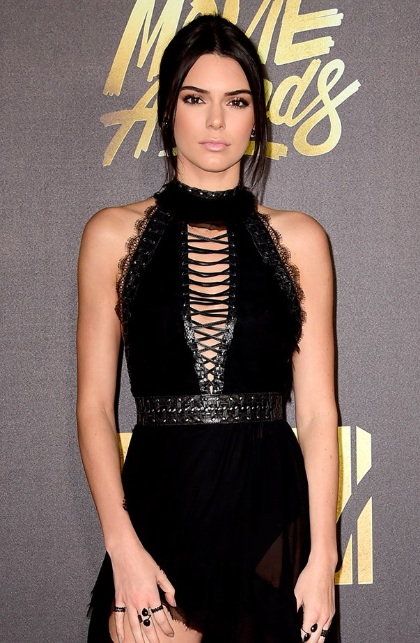 """<p><strong>Kendall Jenner</strong> <p>Kendall Jenner revealed her celebrity crushes <a href=""""http://www.people.com/article/kendall-jenner-celebrity-crushes-brad-pitt-johnny-depp-heath-ledger"""" target=""""_blank"""">on her app</a>. They were, """"in no particular order,"""" a young Brad Pitt, Johnny Depp and Heath Ledger. """"There's something about the old-school vibe of these guys—they don't make 'em like this anymore!"""""""