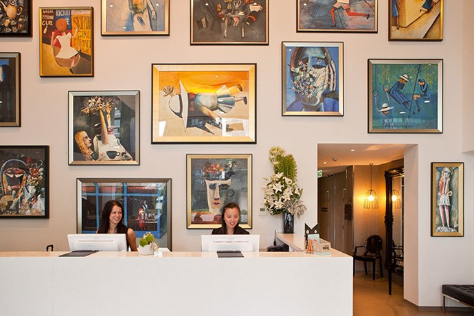 "CHECK IN<br><br> One of Art Series' boutique hotels, The Blackman takes prime position on St Kilda Road, just a few tram stops from the NGV. With some of the most comfortable beds in Melbourne, there probably won't be much awake time to take in the contemporary Australian art lining the walls, but the colourful bolthole makes a great launchpad for out-of-towners embarking on a weekend away.<br><br> <a href=""www.artserieshotels.com.au"">www.artserieshotels.com.au</a>"