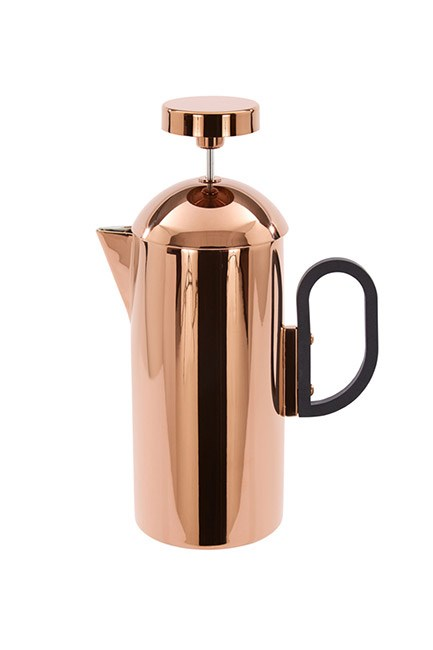 "<strong>Coffee maker.</strong> <br><br>Great coffee is worth every cent. <br><br>Cafetiere, $360, <a href=""https://www.thirddrawerdown.com/collections/wedding-gifts/products/brew-cafetiere-tom-dixon"">Tom Dixon at thirddrawerdown.com</a>"