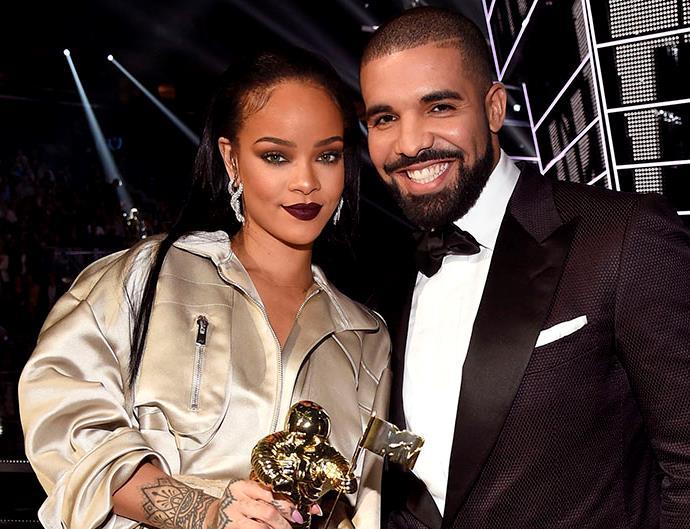 Rihanna and Drake.