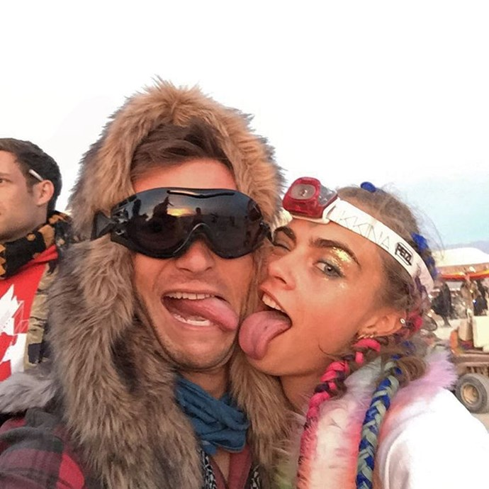 Scott Eastwood and Cara Delevingne.