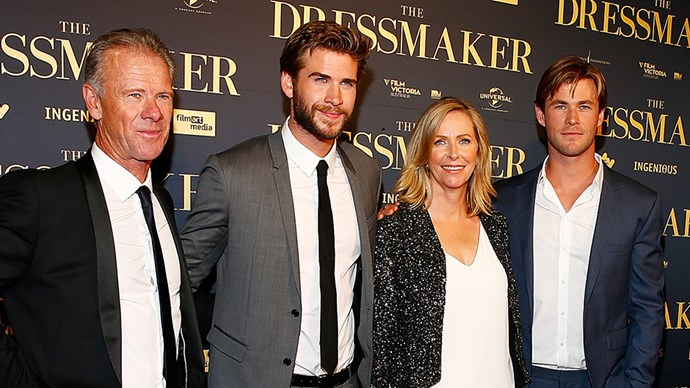 Chris Hemsworth Parents Craig and Leonie