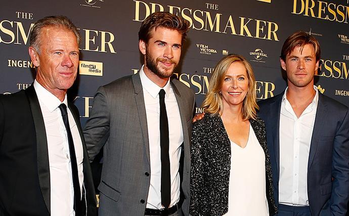 Chris Hemsworth Parents Craig and Leonie