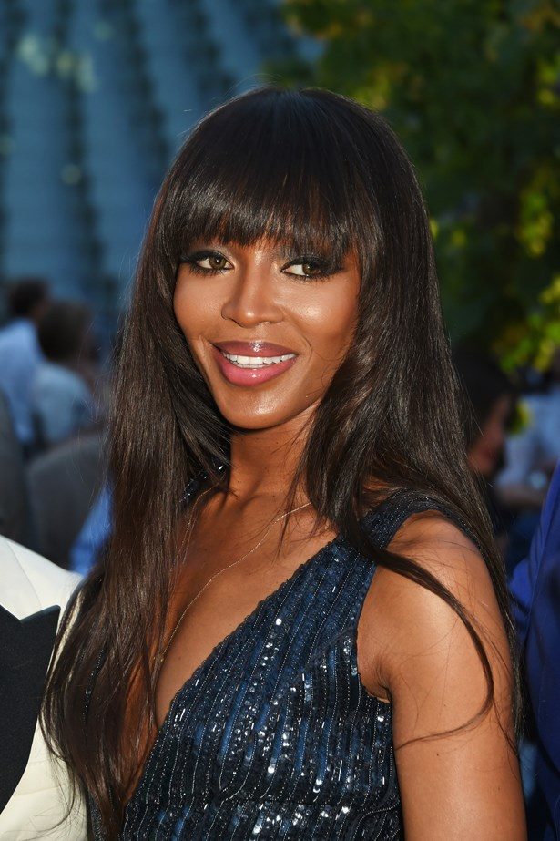 <p>FOR THOSE THINKING OF CUTTING A FRINGE<p> <p> Naomi Campbell.
