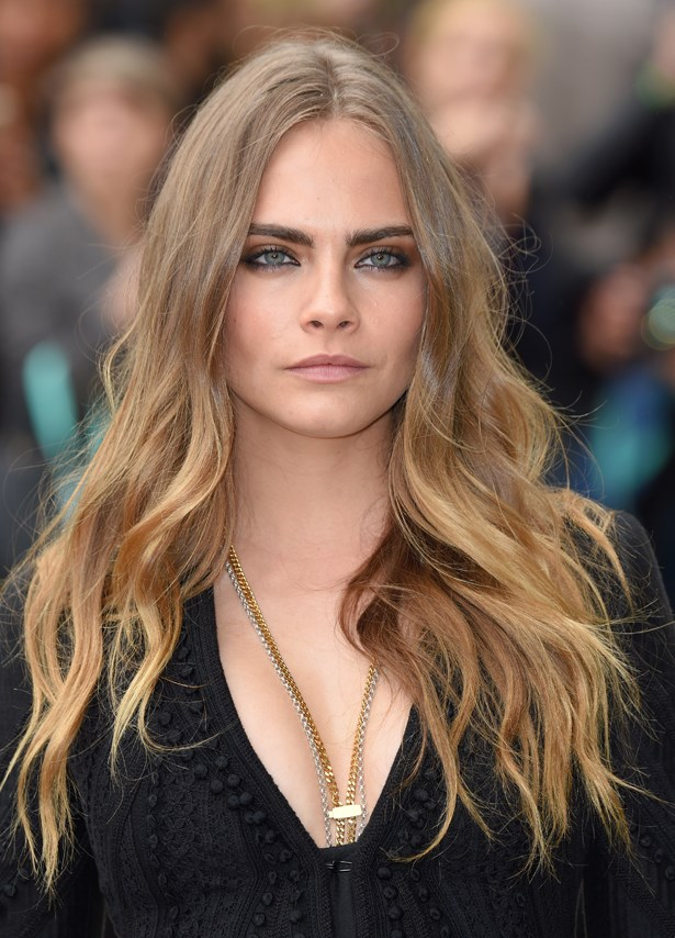 <p>FOR THOSE THINKING OF GOING LONG<p> <p> Cara Delevingne.