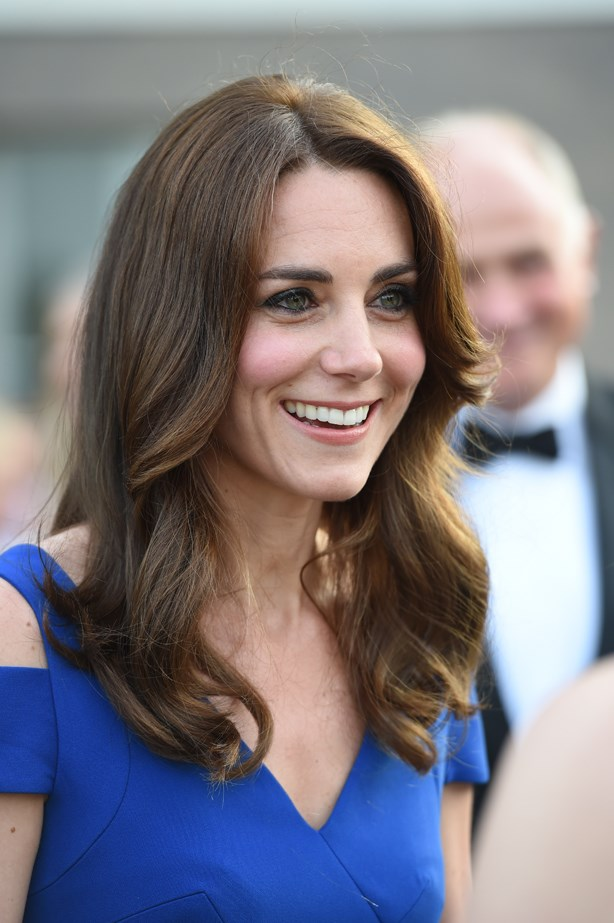 <p>FOR THOSE THINKING OF GOING LONG<p> <p> Catherine, Duchess of Cambridge.