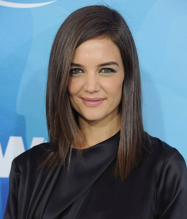 <p>FOR THOSE THINKING OF A HAPPY MEDIUM<p> <p> Katie Holmes.