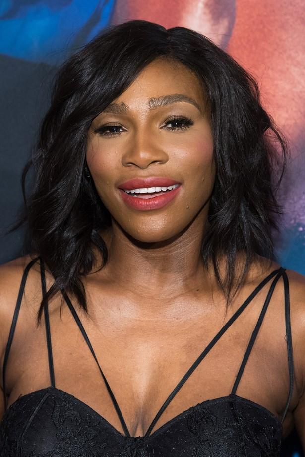 <p>FOR THOSE THINKING OF A HAPPY MEDIUM<p> <p> Serena Williams.