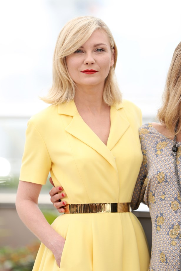 <p>FOR THOSE THINKING OF A HAPPY MEDIUM<p> <p> Kirsten Dunst.