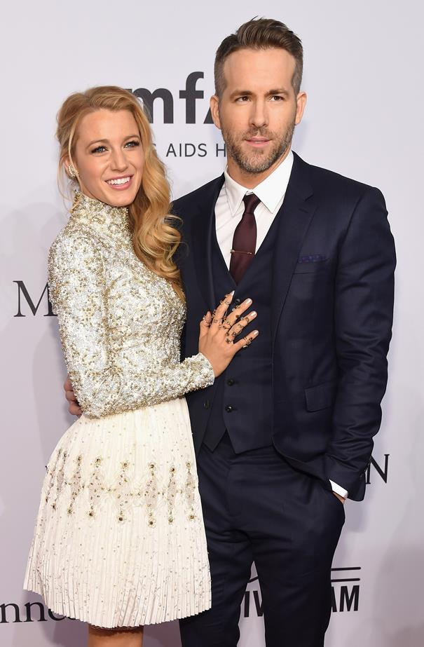 <p> **Blake Lively, 32, and Ryan Reynolds, 43.** <p> Difference: 11 years.