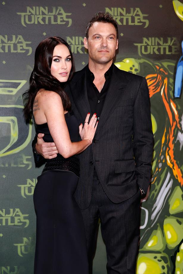 <p> **Megan Fox, 33, and Brian Austin Green, 46.** <p> Difference: 13 years.