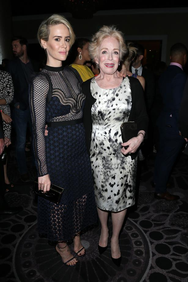 <p> **Sarah Paulson, 45, and Holland Taylor, 76.** <p> Difference: 31 years.