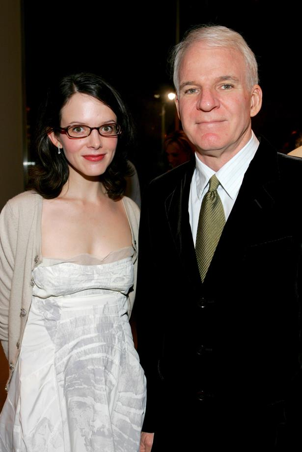 <p> **Anne Stringfield, 47, and Steve Martin, 74.** <p> Difference: 28 years.