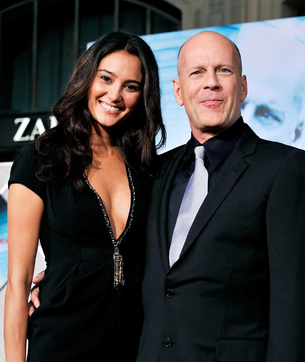 <p> **Emma Heming, 41, and Bruce Willis, 64.** <p> Difference: 23 years.