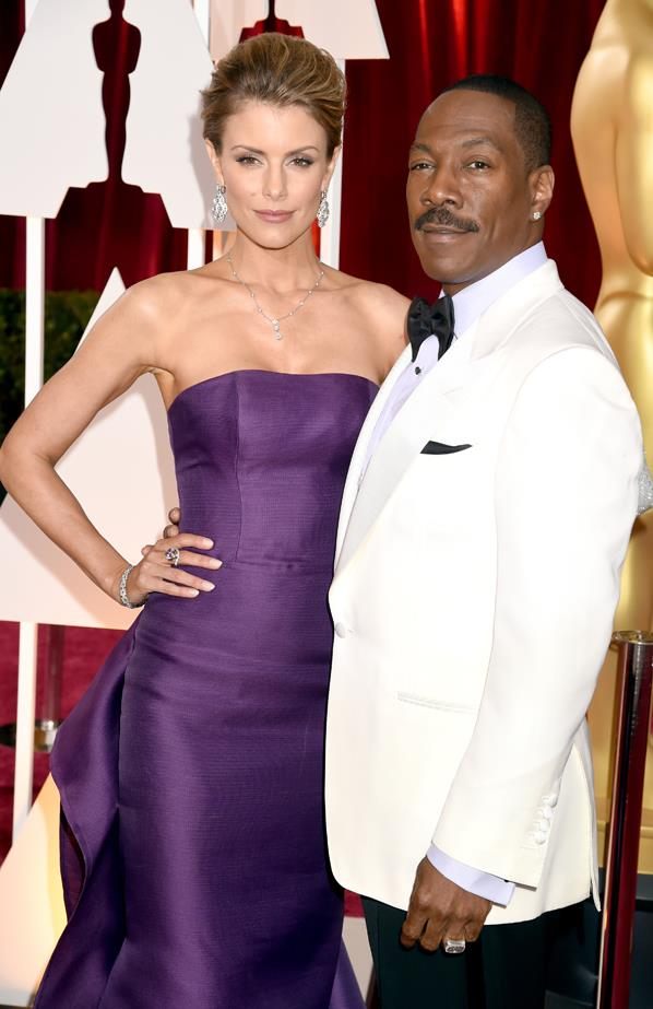 <p> **Paige Butcher, 40, and Eddie Murphy, 58.** <p> Difference: 18 years.
