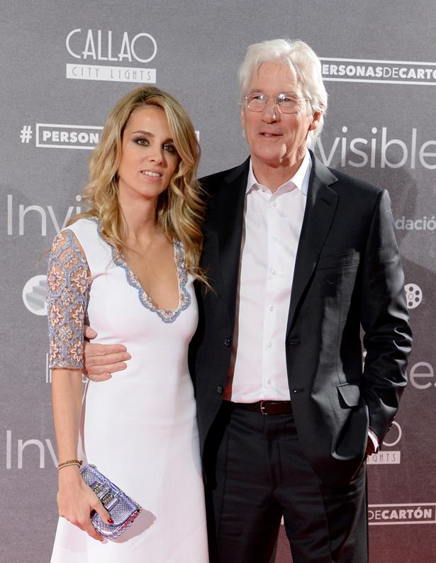 <p> **Alejandra Silva, 36 (37 in February), and Richard Gere, 70.** <p> Difference: 33 years.