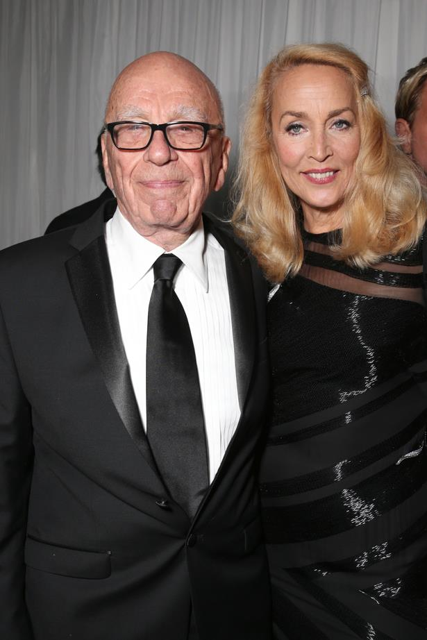 <p> **Jerry Hall, 63, and Rupert Murdoch, 88.** <p> Difference: 25 years.