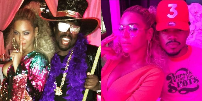 Beyonce birthday party.