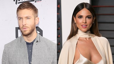 Eiza González Is Probably-Maybe Calvin Harris' New Squeeze
