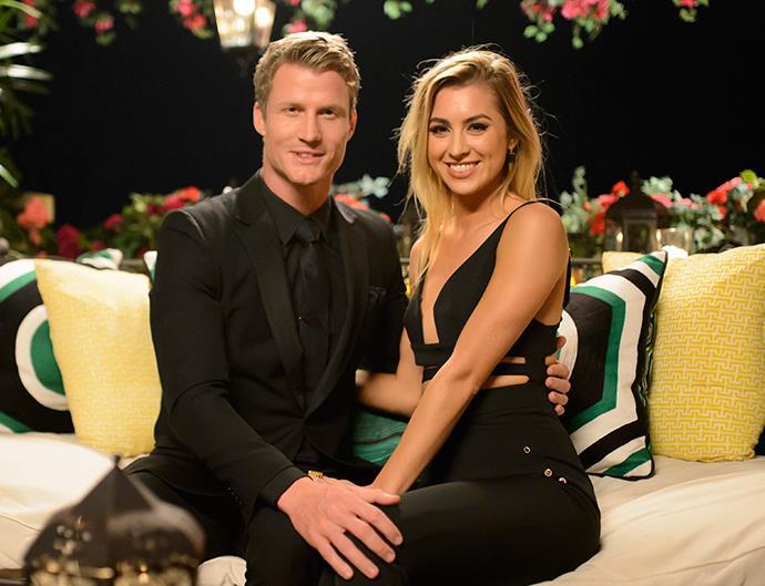 Richie Strahan and Alex Nation on The Bachelor Australia 2016