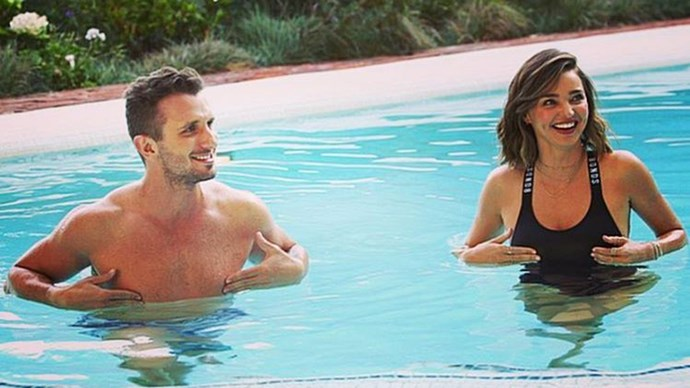 Tommy Little Interviews Miranda Kerr in Pool For The Project
