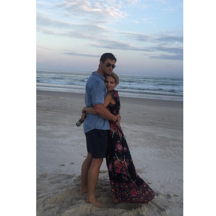 """<p>""""Every love story is beautiful, but ours is my favourite!"""" Elsa wrote of her relationship with Chris on <a href=""""https://www.instagram.com/p/_ob819JpbN/"""" target=""""_blank"""">Instagram</a>."""