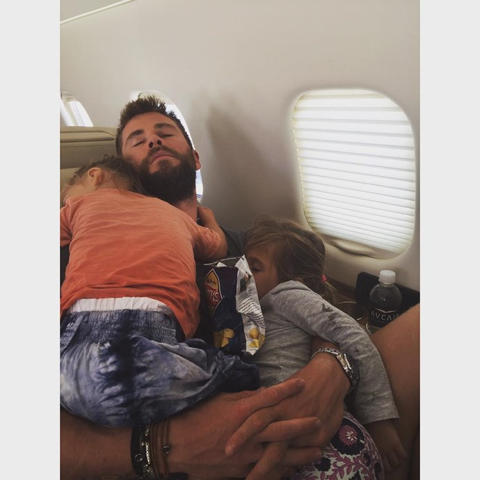 """<p>""""Nothing better than sleeping in papa's arms!"""" Elsa posted on <a href=""""https://www.instagram.com/p/BGJuOHWppbB/?taken-by=elsapatakyconfidential"""" target=""""_blank"""">Instagram</a>. Has your heart melted yet?"""