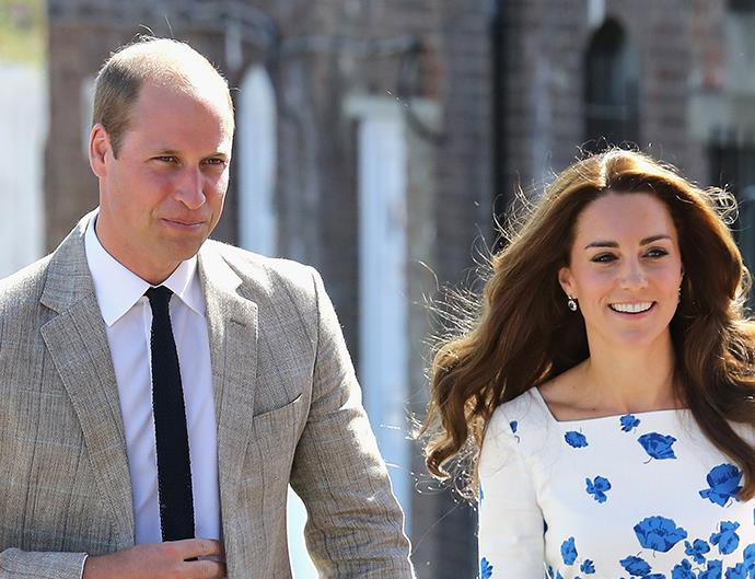 Kate Middleton and Prince William in Luton